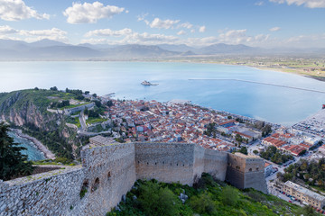 Nafplio view, Peloponnese, Greece