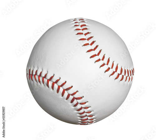New Baseball Isolated