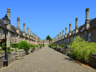 The Vicars' Close, Wells, Somerset, England