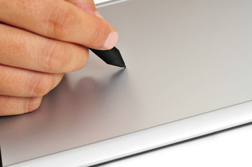 stylus and graphics tablet