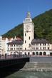 Town hall and bridge in Rosa Khutor, Sochi, Rossia