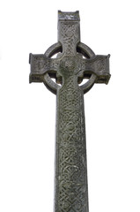 Celtic Cross on white