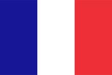 "Постер, картина, фотообои ""French flag"""