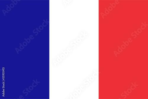 Leinwandbild Motiv French flag