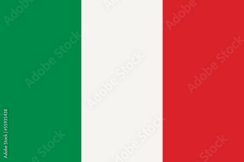 canvas print picture Italian flag