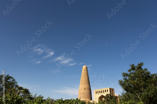Emin Minaret with mosque in Turpan