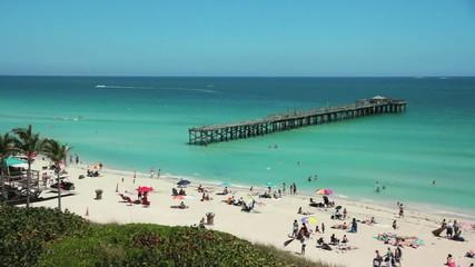 A Pier At Miami Beach