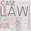 Civil procedure Word Cloud Concept