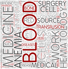 Cytohematology Word Cloud Concept