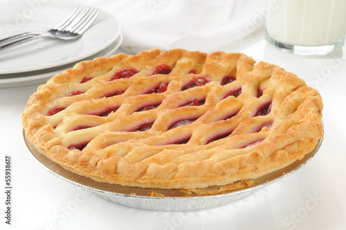 Gourmet cherry pie