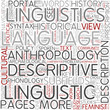 Descriptive linguistics Word Cloud Concept