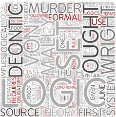 Deontic logic Word Cloud Concept