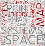 Dynamical systems Word Cloud Concept