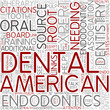 Endodontics Word Cloud Concept