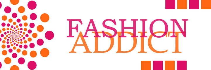 Fashion Addict Banner Circles