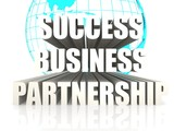 Success business partnership