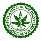 Medical marijuana stamp