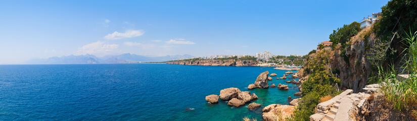 Beach at Kaleici in Antalya, Turkey