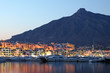 Puerto Banus at dusk, marina of Marbella, Spain - 55943484