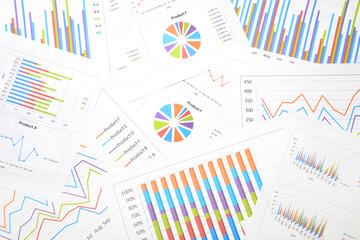 バックグラウンド―ビジネスチャート