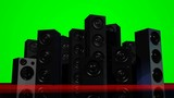 Loudspeakers (Green Screen)