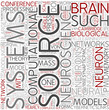 Computational neuroscience Word Cloud Concept