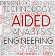 Computer-aided engineering Word Cloud Concept