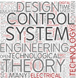 Control engineering Word Cloud Concept