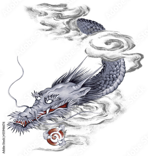 日本的な龍