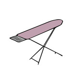 ironing board vector illustration