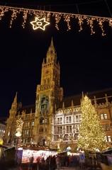München Weihnachtsmarkt - Munich christmas market 06