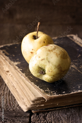 old apples