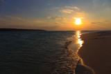 Fototapety 前浜ビーチの夕日