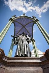 Philipp Melanchthon Denkmal in Lutherstadt Wittenberg