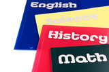 Education subject folders