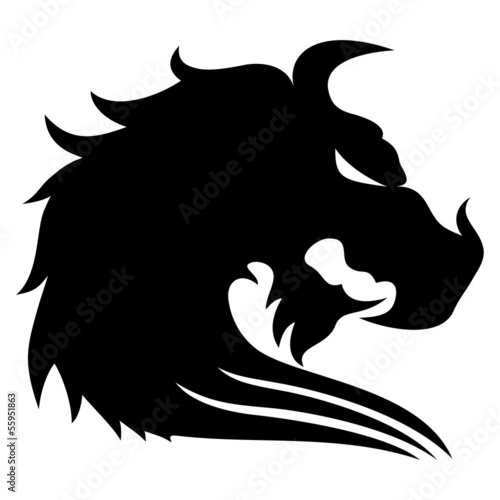 Dragon head.