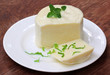 Mozzarella cheese with stevia