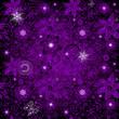Seamless dark-violet pattern