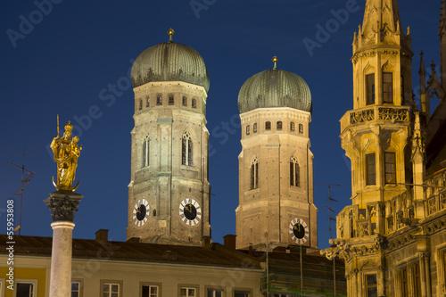 Monaco di Baviera -Frauenkirche