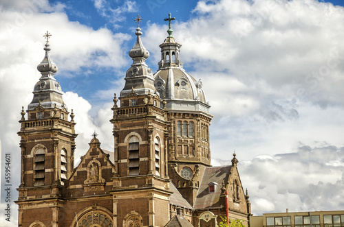 St. Nicolas church in Amsterdam.