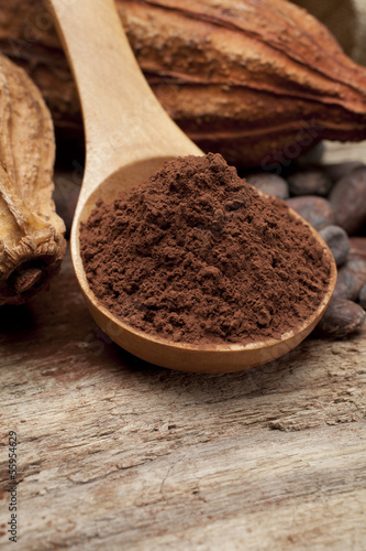 Foto op Canvas Koffie cocoa
