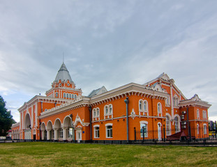 Railway station of Chernihiv, Ukraine