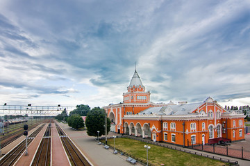 Railway station of Chernihiv