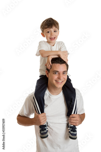 Teen Boy and Preschooler