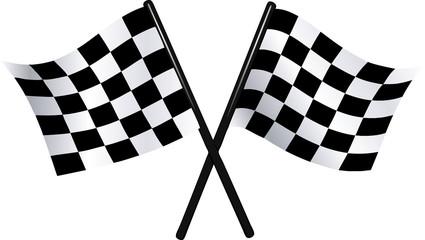 checkered vector flags