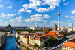 canvas print picture - Berlin Skyline Panorama