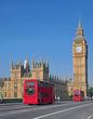 Obrazy na płótnie, fototapety, zdjęcia, fotoobrazy drukowane : Big Ben and Westminster Bridge