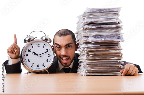 Man not meeting his deadlines