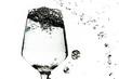 ワイングラスに注ぐ