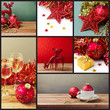 Collage of Christmas holiday photos